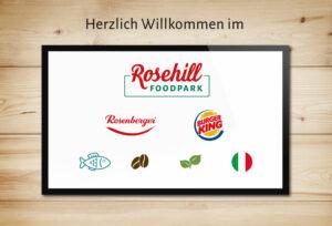 Marken im neuen Rosehill Foodpark
