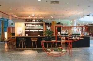 Das neue Buffet-Restaurant in der SCN