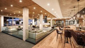 Neuer Lounge & Barbereich des Zugspitz Resorts