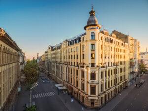 Hotel Kiew Außenansicht