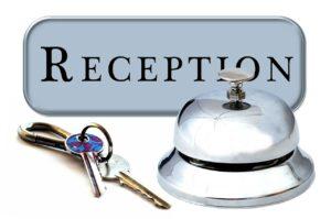 Rezeption Hotel